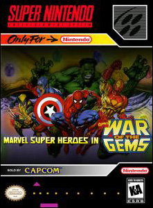 Marvel Super Heroes — War of the Gems