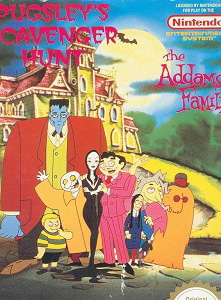 The Addams Family — Pugsley's Scavenger Hunt nes