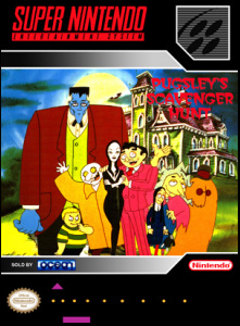 Addams Family, The — Pugsley's Scavenger Hunt